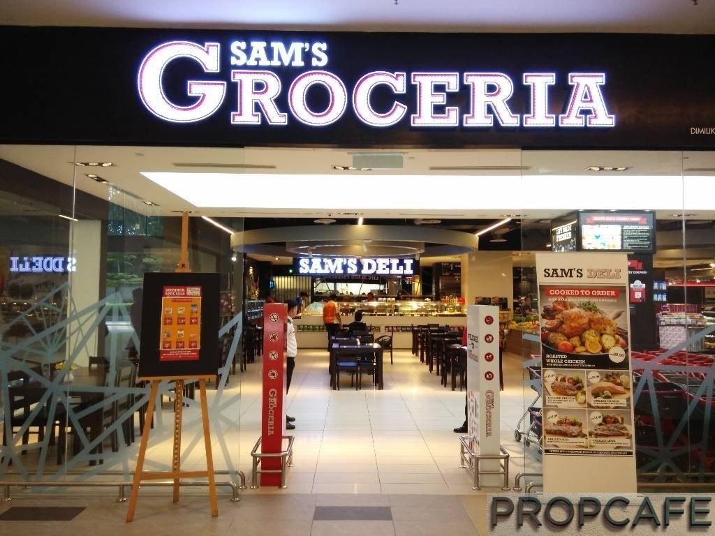 Sam's Groceria at Utropolis Marketplace Glenmarie