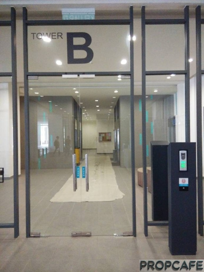 Tower B Security Entrance Before Entering Lift Area