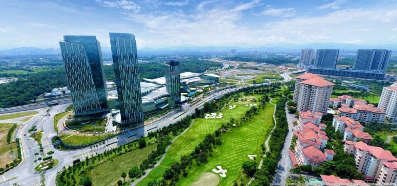 IOI Resort City Putrajaya Skyline View