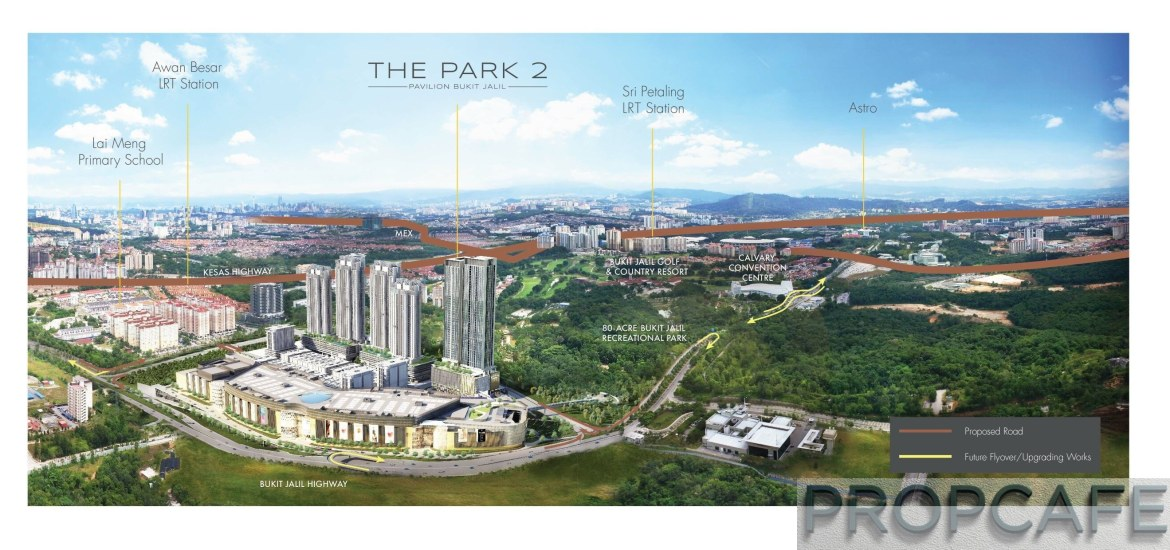 The Park 2 Bukit Jalil City by Malton