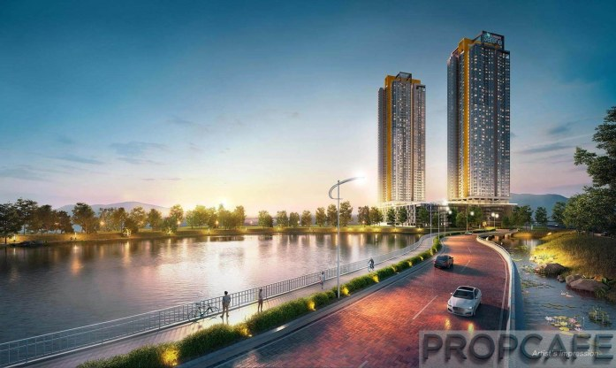 Sunway Serene Exclusive bridge that leads to your home