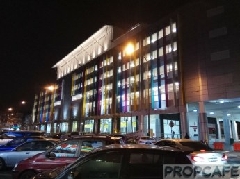 DBKL Taman Segar Multi Storey Car Park Night View