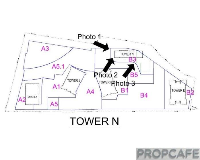EkoCheras Hotel Suites Tower N Progress Layout