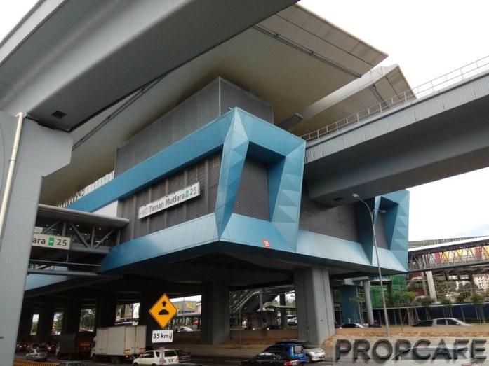 MRT Station Taman Mutiara SBK25