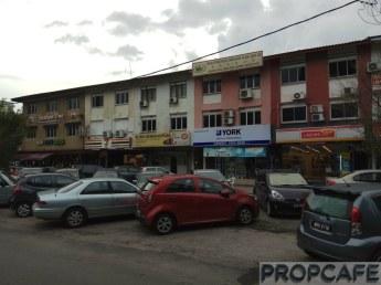 Shops at Jalan Mutiara Raya Taman Mutiara Barat
