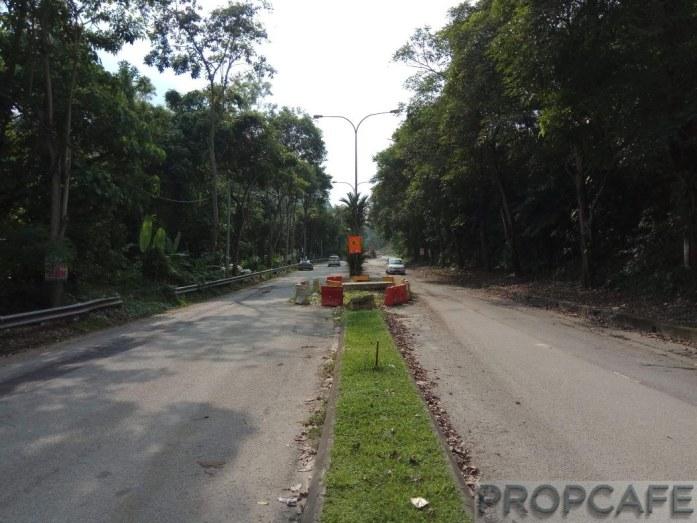 Aster Residence Main Access Road - Jalan Cheras Hartamas