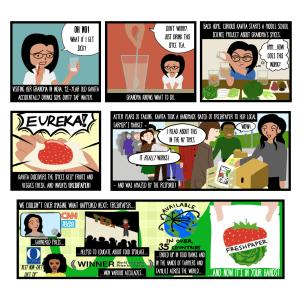 Company Origin Story Comic