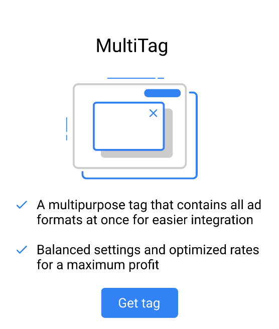 Propeller ads multiTag