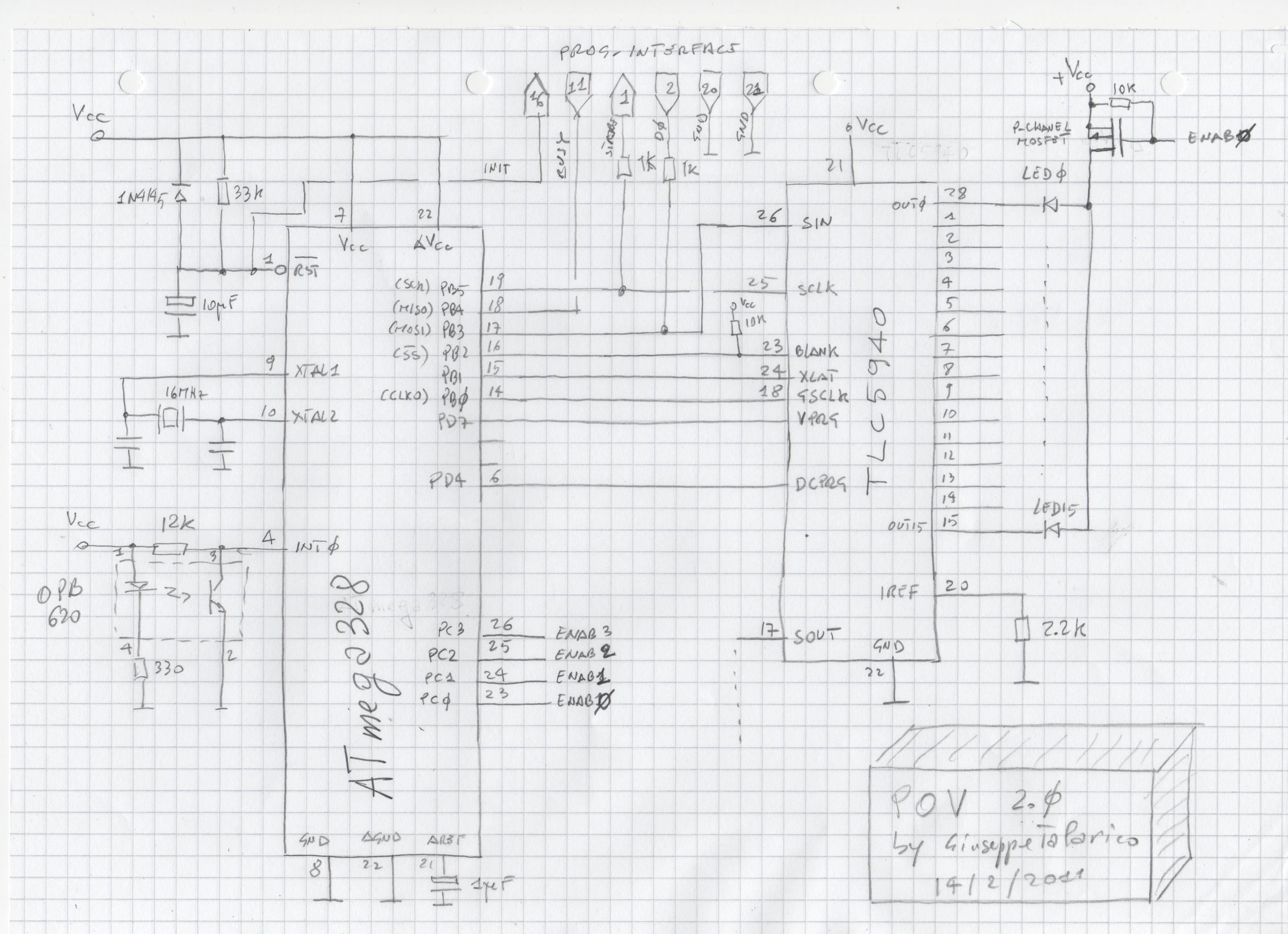 Pov Propeller Clock 2 0 Schematic
