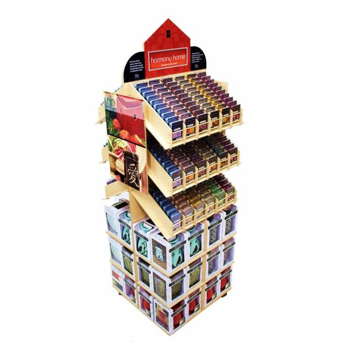 Harmony Home puzzle display.