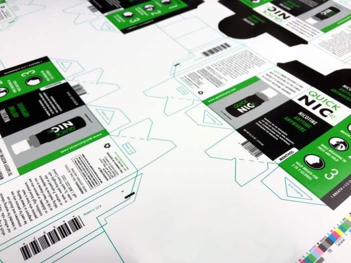 Inhaler product packaging design.