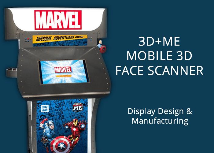 3D+ME Mobile 3D face scanner.