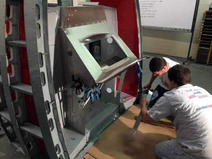 3D+ME Marvel 3D scanner components being assembled.