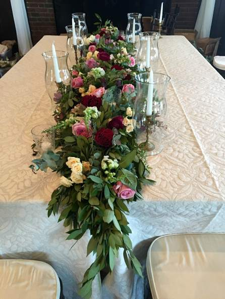 incredible centerpiece by ashley fox designs for wedding floral