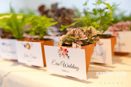 details from wedding coordinators work