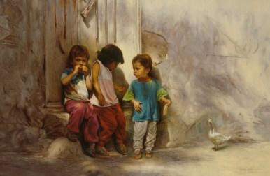Children in the Alley