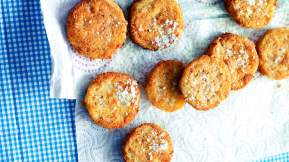 AMERICAN Fried green tomatoes
