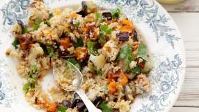 ISRAELI Antipasti couscous salad