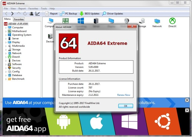 AIDA64 6.20.5300 with Keygen Download