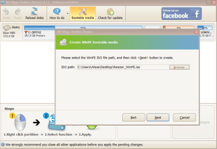 IM-Magic Partition Resizer 3.6.0 with Keygen Free Download