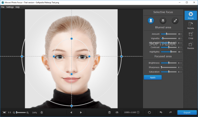 Movavi Photo Focus 1.1.0 with Patch Free Download
