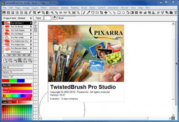 Pixarra TwistedBrush Pro Studio Crack + Keygen