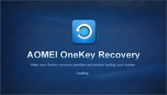 AOMEI OneKey Recovery 1.6.2 Cover