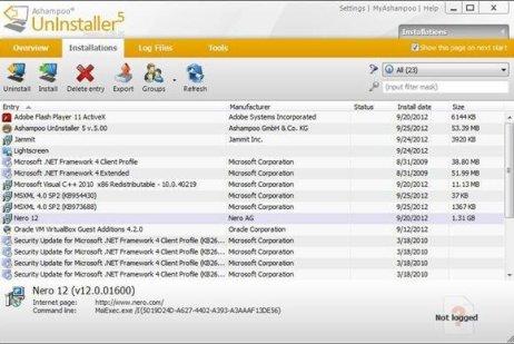 Ashampoo Uninstaller 8 Key Full Crack Download
