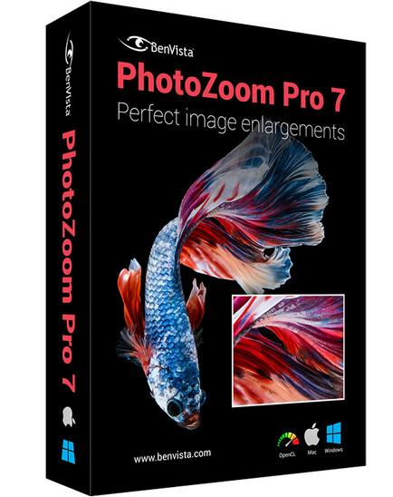 Benvista PhotoZoom Pro 7.1 Cover