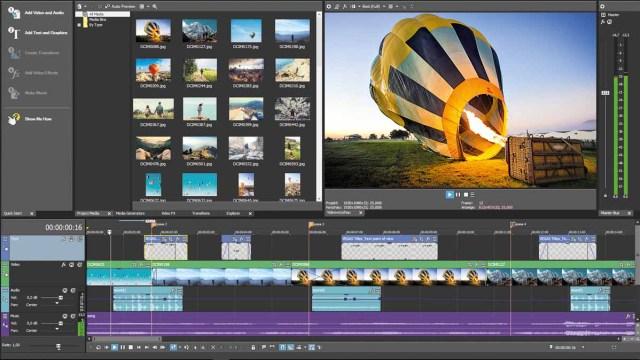 MAGIX Vegas Pro 17 Screenshot 1
