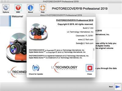 PHOTORECOVERY Professional Screenshot 1