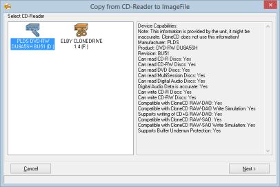 RedFox CloneCD 5.3 Screenshot 1