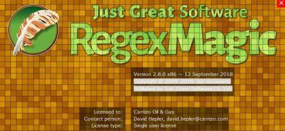 RegexMagic 2.9.0 Cover