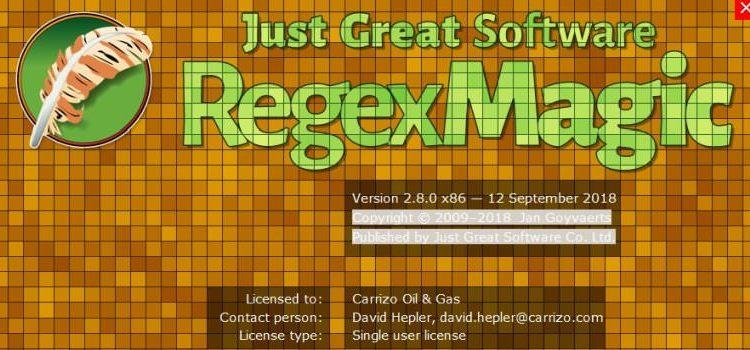 RegexMagic Crack