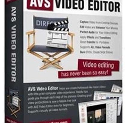 AVS Video Editor Crack Full Keygen Patch Torrent