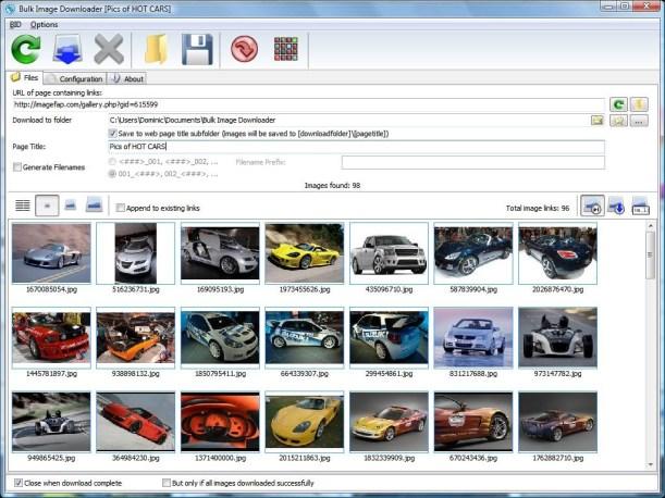 Bulk Image Downloader 6.76 Crack