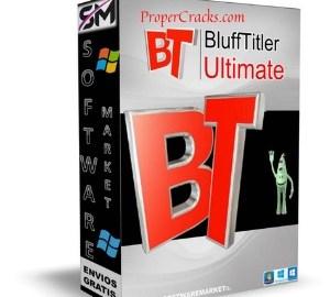 BluffTitler Ultimate Crack + Full Keygen Free Download