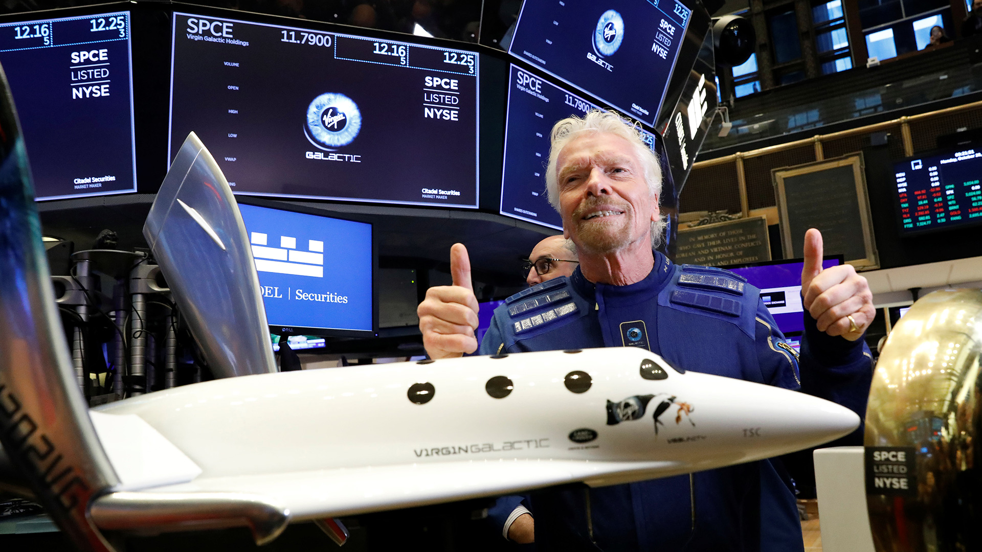 Virgin Galactic and Richard Brandson