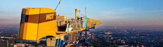 Crane Drone View