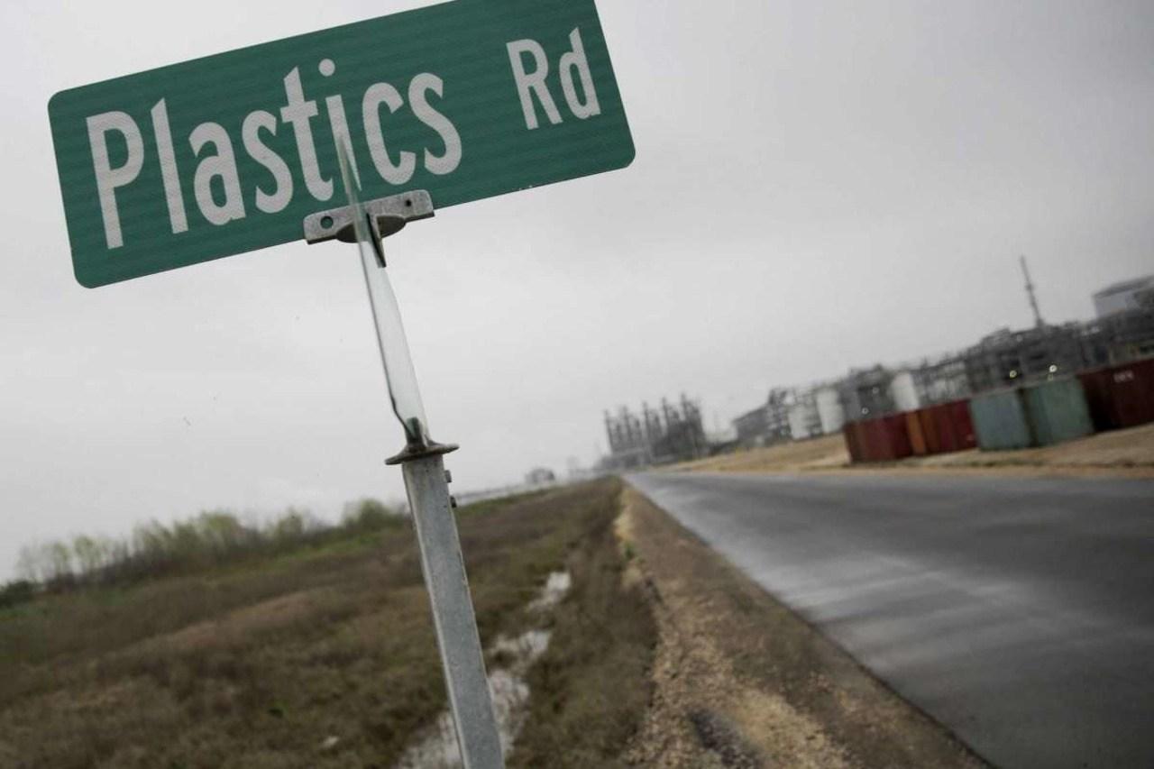 Plastic road