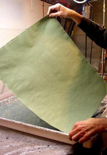 Изготовление мраморной бумаги