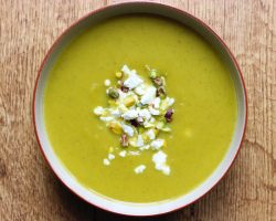 butternut, celery, sage soup