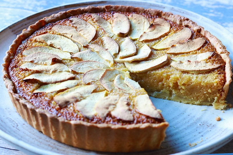 Sticky Apple Treacle Tart