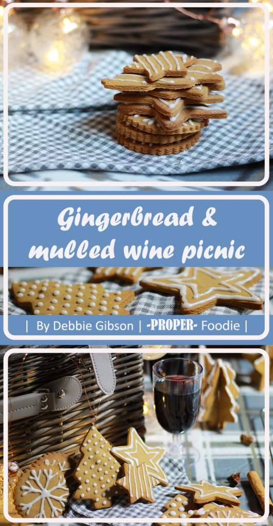 Gingerbread and mulled wine picnic