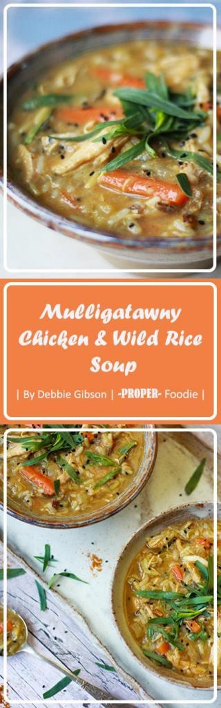 Mulligatawny Chicken & Wild rice soup