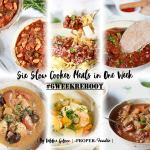 six slow cooker meals in one week