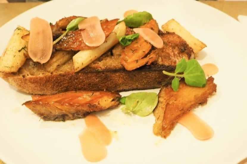 Brunch at Trove mackerel