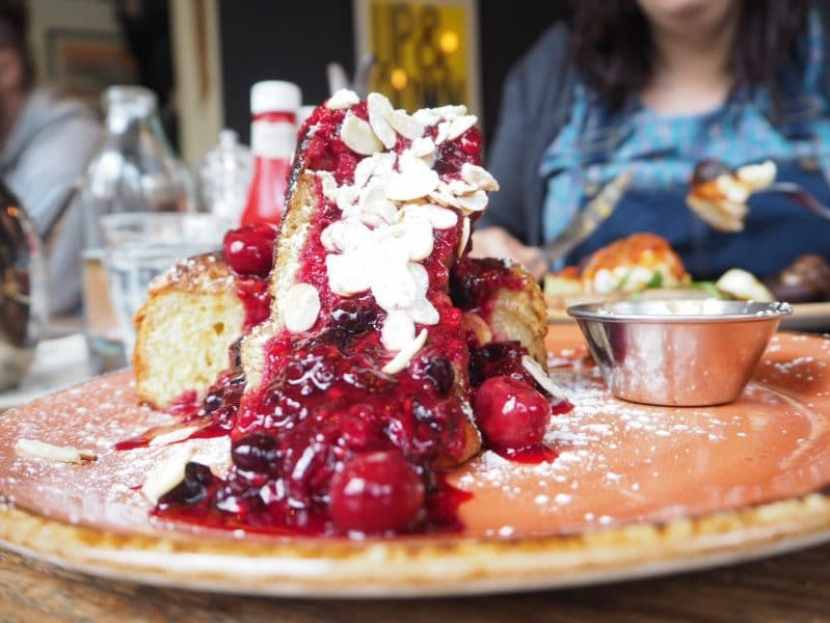 Brunch at Federal Cafe, Northern Quarter: brioche french toast