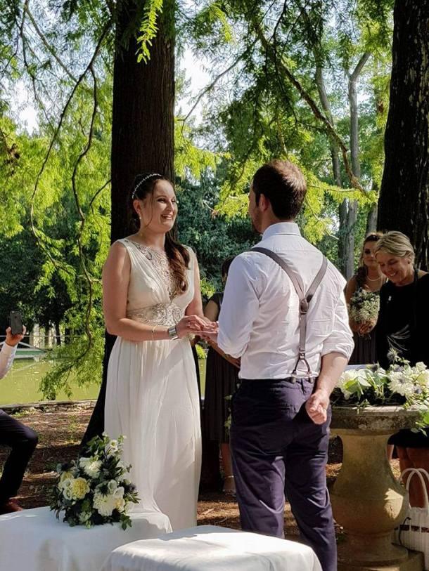 wedding at Villa Bertani Italy