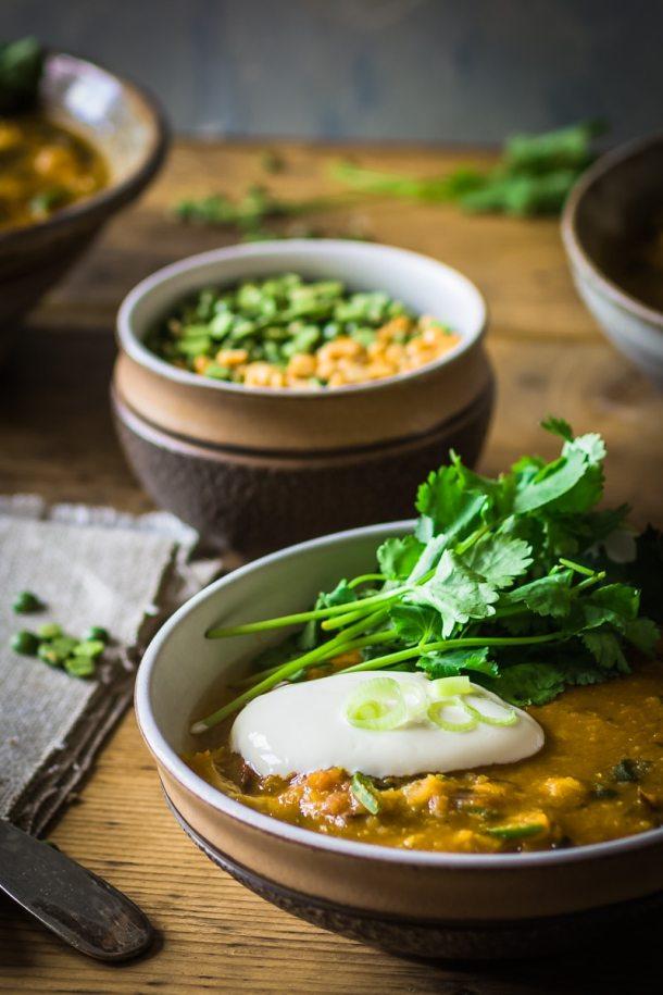 chicken and split pea soup recipe